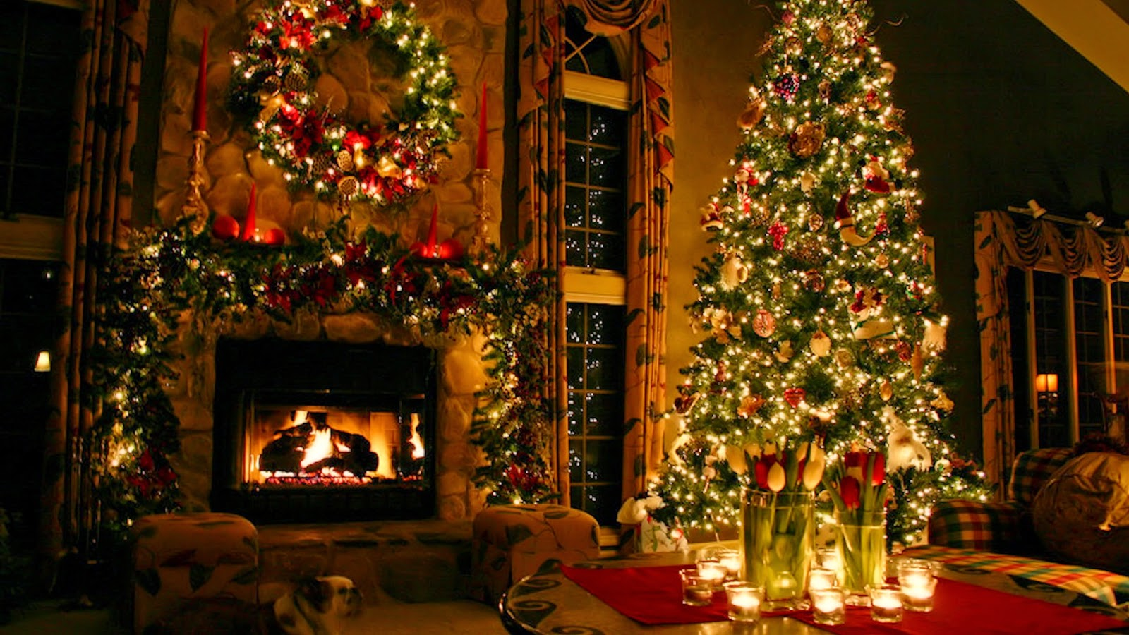 Mac os x wallpapers christmas computer wallpaper - Pretty christmas pictures ...