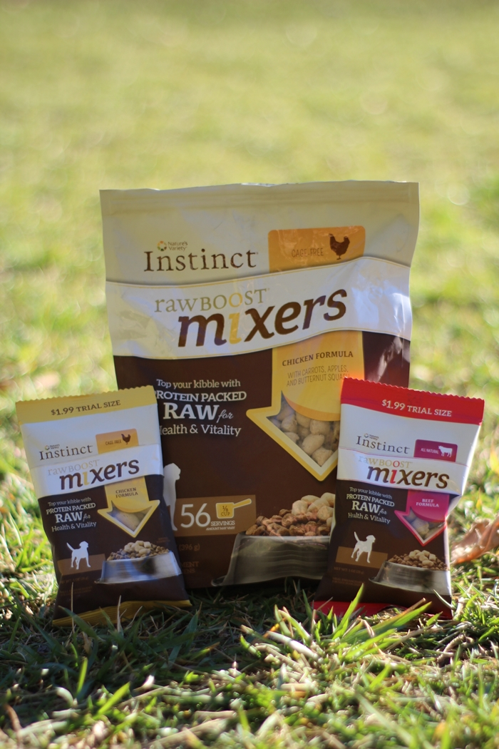Instinct Raw Boost Mixers Review