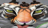 Craig Tracy тигр на спине