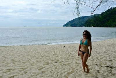 Pantai di Penang : Kerachut Beach