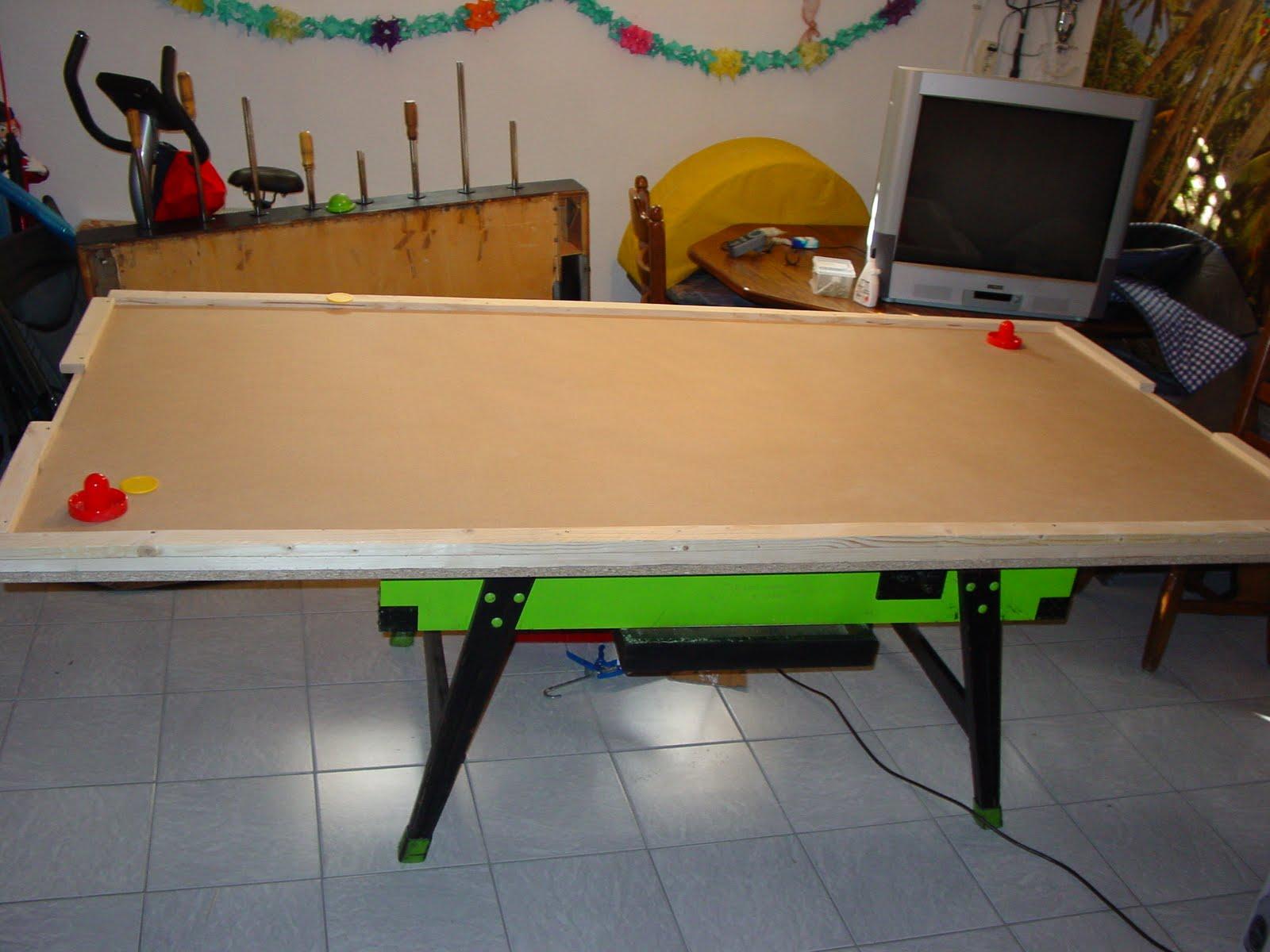 basteln mit dr kned diy airhockey tisch im eigenbau. Black Bedroom Furniture Sets. Home Design Ideas