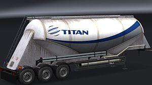 TITAN Cement trailer