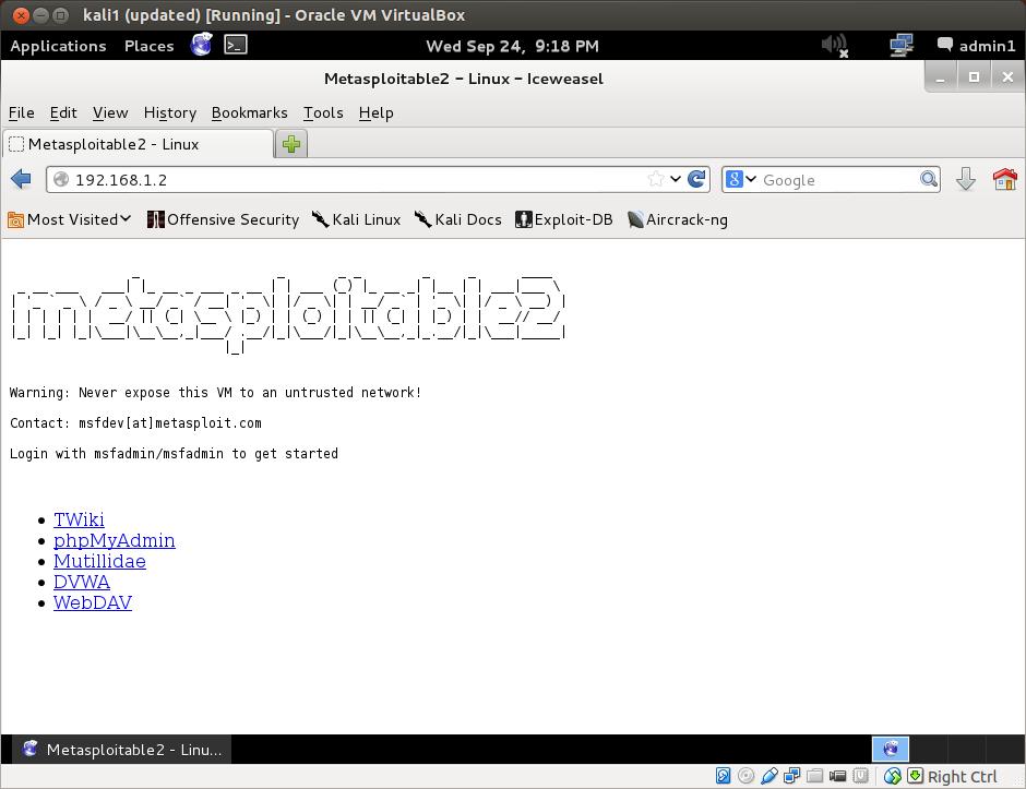 aGupieWare: Hack Lab Part 3: Installing the Victim Machine on a