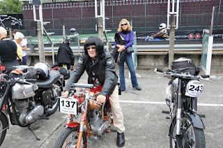 Señora manga corta villana t-shirt Motorbike v2 coche de carreras motociclismo Biker