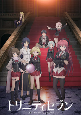 Download Trinity Seven Subtitle Indonesia Batch Episode 1-12