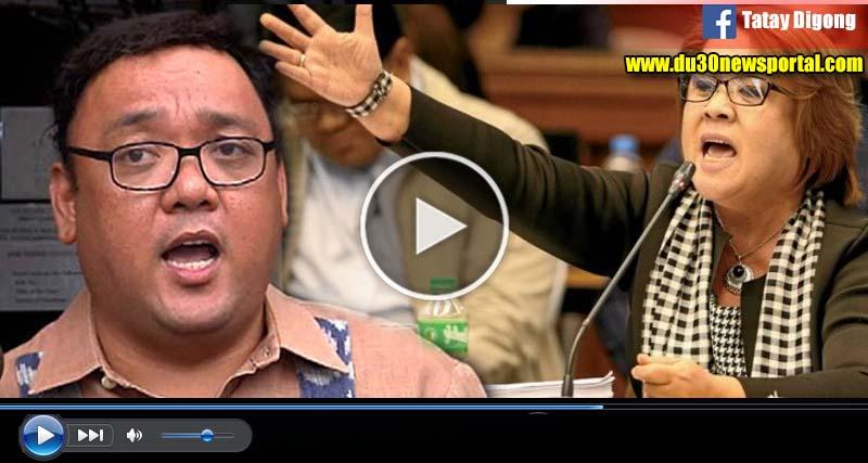 WATCH: Rep. Roque, Hinamon Si Sen. De Lima