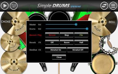 Simple Drums Deluxe : Bermain Drum Lengkap Hanya Dengan Jari!