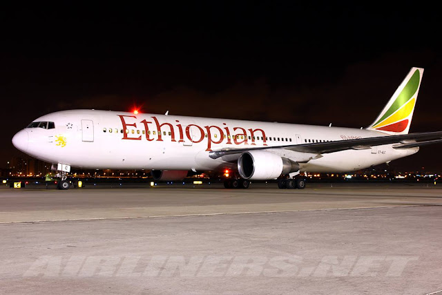 Charles Ryan's Flying Adventure: Flying on Ethiopian