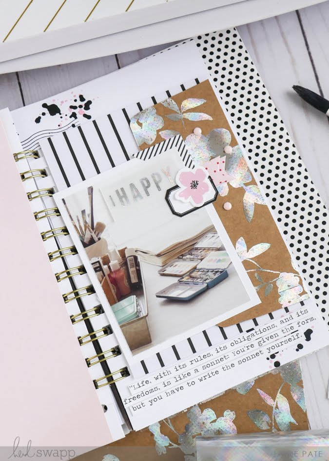 Let's Celebrate National Scrapbook Day With Heidi Swapp Minc by Jamie Pate | @jamiepate for @heidiswapp