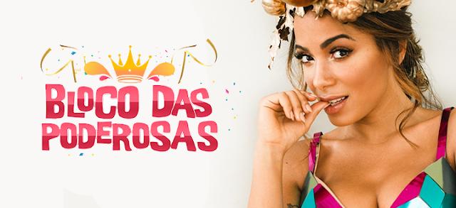 400 mil foliões matam a saudade do carnaval no Bloco das Poderosas 2017