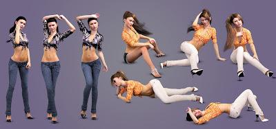 i13 So Coy Poses for Genesis 3 Female