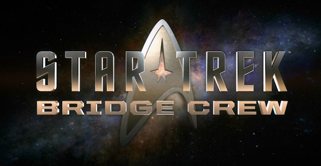 Star Trek: Bridge Crew logo VR virtual reality Ubisoft