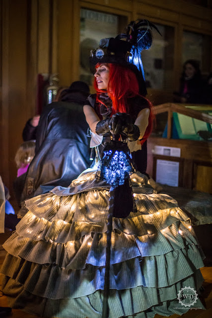 How to use LED string lights to make your steampunk costume glow in the dark (for men and women)