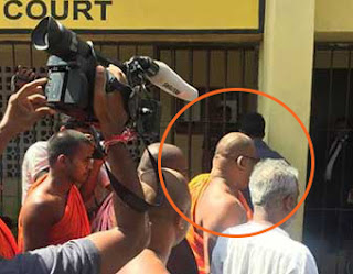 Gnanasara Thera who was in hiding ... surrenders to court -- released on bail