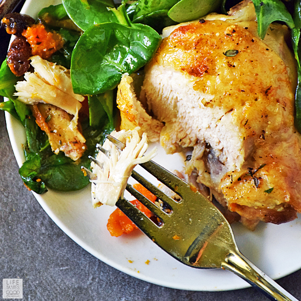 Roasted Chicken and Vegetables Recipe