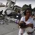 LOOK: Larawan ng mga Damages sa Leyte Earthquake Winasak ang mga Gusali at Kalsada