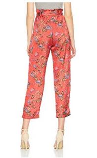 pantalones mujer flores de Springfield