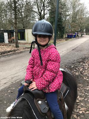 Pony ride at Center Parcs
