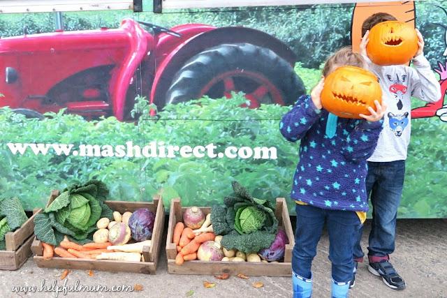 Mash direct pumpkins