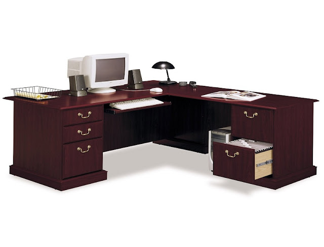 best buy corner office furniture wooden desk with drawers for sale