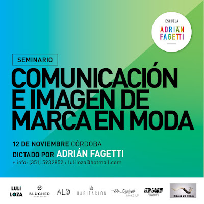 ADRIAN FAGETTI EN CÓRDOBA DICTA MARKETING DE MODA!