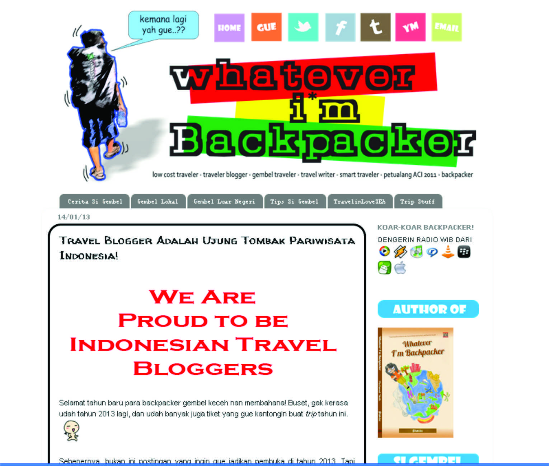 Top 5 Travel Blog Indonesia - BACKPACKER BORNEO