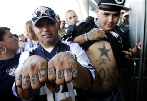 Tattoo Dallas Cowboys Tattoos