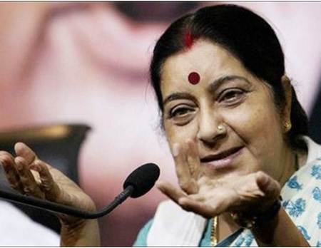 2 Pak nationals to be given visa for medical treatment: Sushma Swaraj, New Delhi, News, Minister, Treatment, Visa, Twitter, Islamabad, Son, National