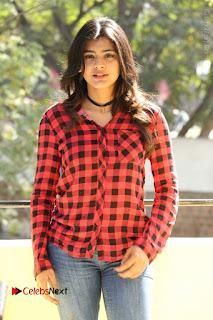 Actress Hebah Patel Stills in Blue Denim Jeans at Nanna Nenu Naa Boyfriends Movie Success Meet  0054.JPG