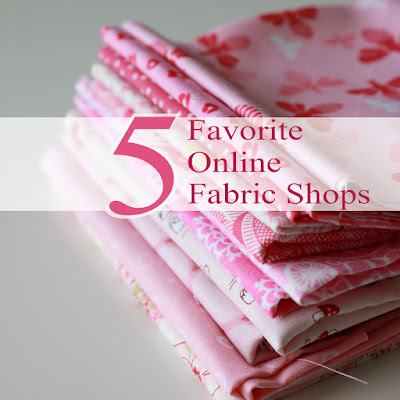 Favorite online fabric shops and quilting shops