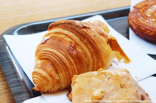 Croissant at Gontran Cherrier in Paris