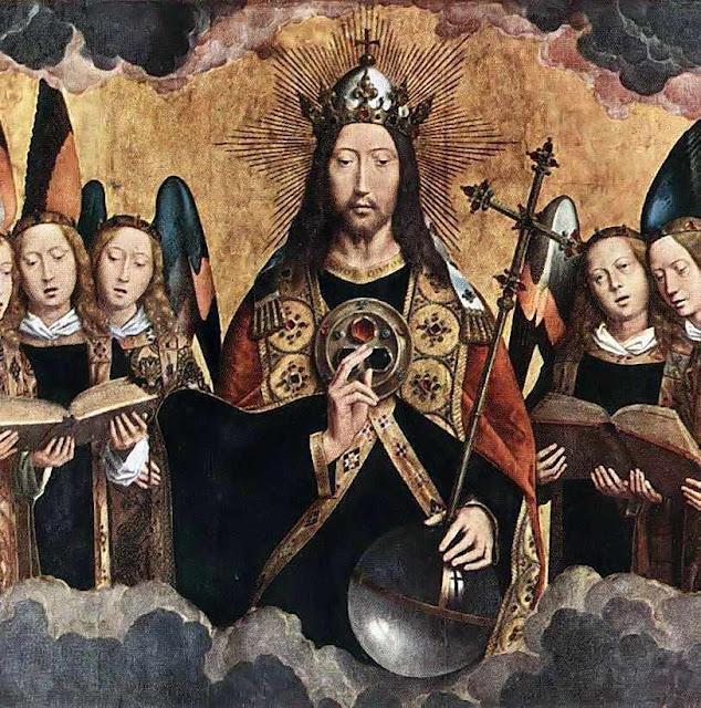 Cristo Rei, Hans Memling