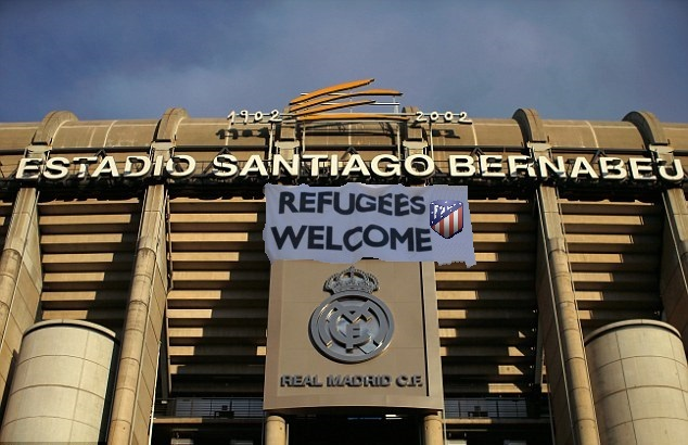 El Real Madrid abre las puertas del Santiago Bernabéu al Atlético de Madrid ante el incierto futuro del Wanda Metropolitano tras clausurar el Vicente Calderón - Wanda - Wanda Metropolitano - Atlético de Madrid - Refugees Welcome - el troblogdita - ÁlvaroGP