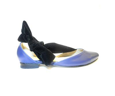 Sala Chaussures 'Ekaterina' Gala Ballet Flats