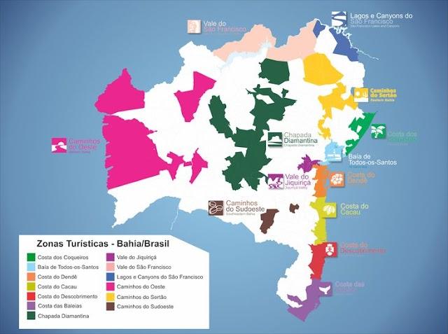 Bahia inicia atualização do Mapa Turístico que reúne 118 cidades