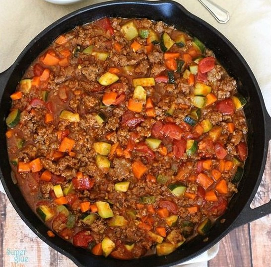 ALL MEAT VEGGIE CHILI – PALEO CHILI RECIPE #Paleo #HealthyRecipe