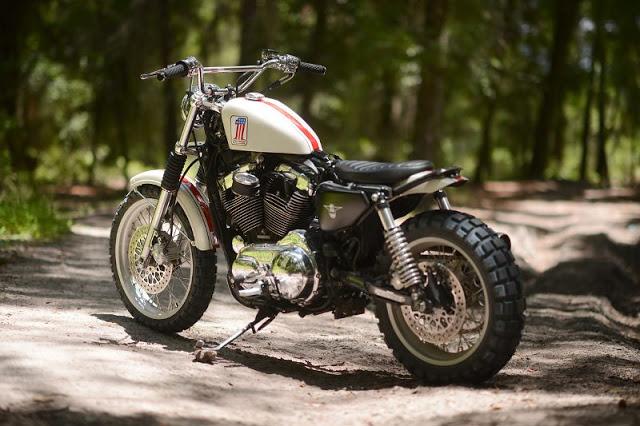 Harley Davidson XL1200C Sportster độ Scrambler