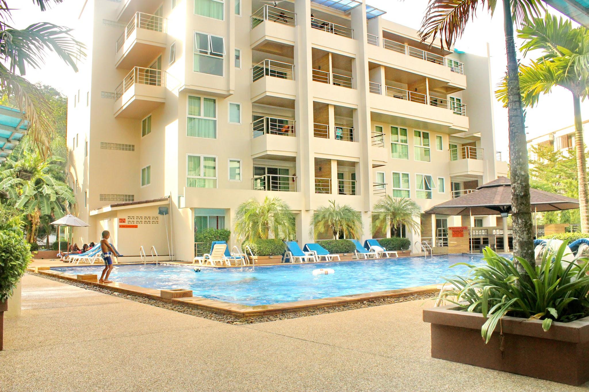 Patong Harbor View Swimming Pool and Kids Pool