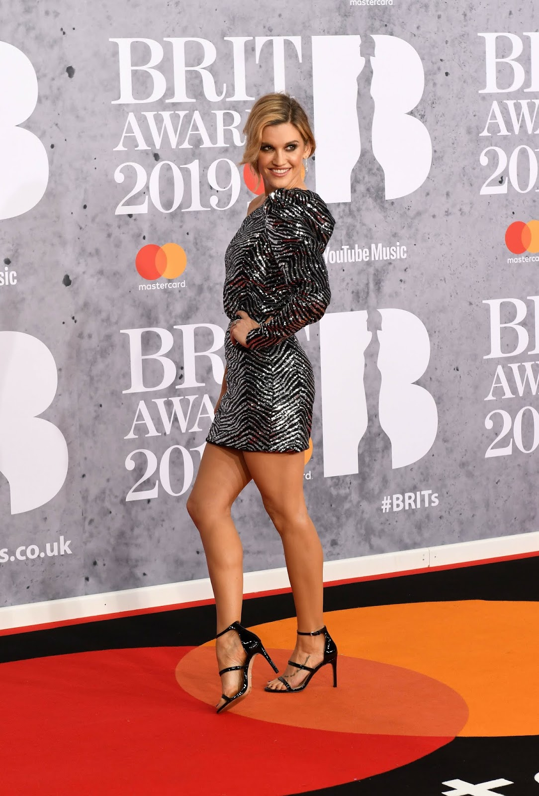 Ashley Roberts - The BRIT Awards 2019 held at The O2 Arena in London  - 02/20/2019