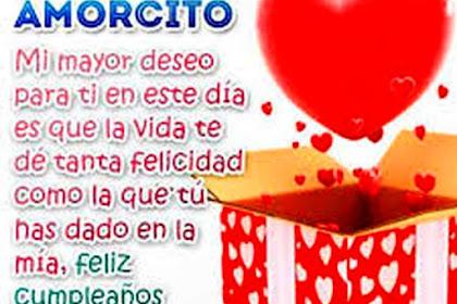 Lo Mejor De Feliz Cumpleaños Mi Amor Frases Cortas Para Mi