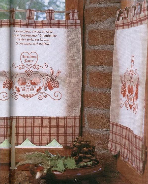 Beautiful Tende Ricamate Per Cucina Images - Embercreative.us ...