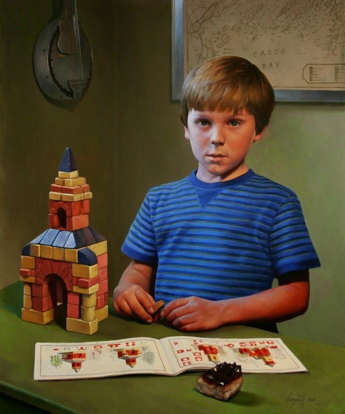 Волшебная иллюзия натурализма. Joshua Langstaff