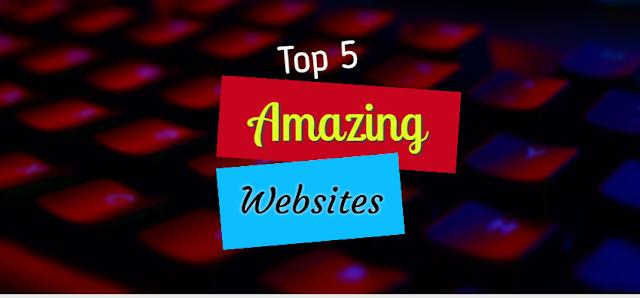 amazing websites 2021