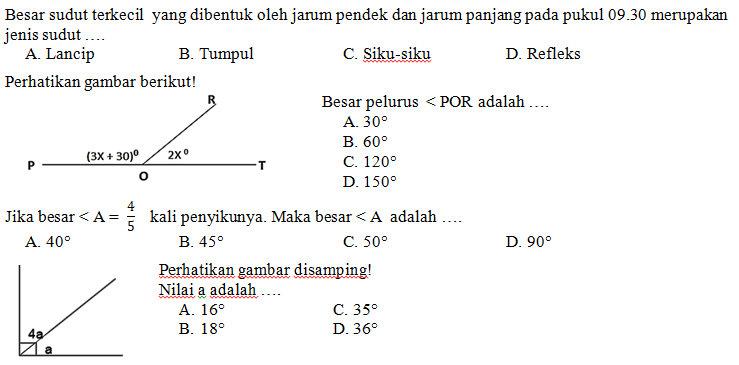 Kisi Kisi Soal Dan Jawaban Matematika Smp Kelas 7 Semester Genap Kurikulum 2013 Didno76 Com