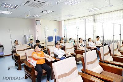 Bệnh nhân đến khám tại phòng khám đa khoa thái bình dương rất đông