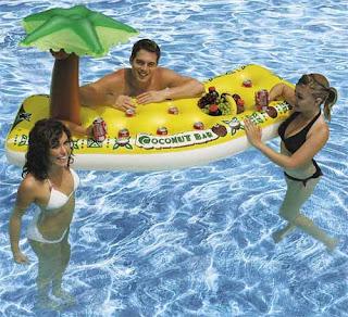 Bar flotante o salva vidas