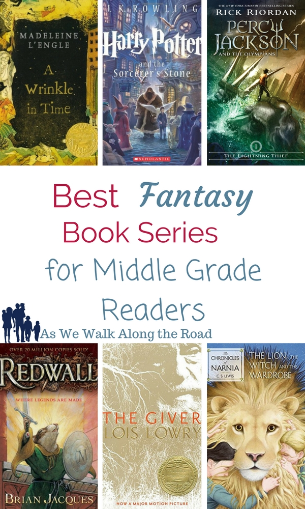 Fantasy books for middle grade kids