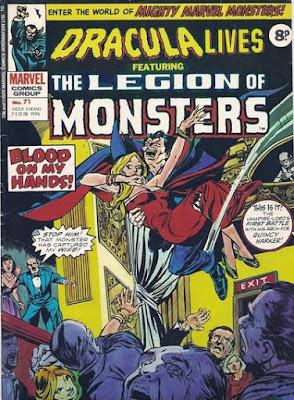 Marvel UK, Dracula Lives #71