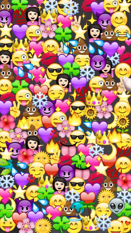 emoji wallpaper background full paper - photo #1