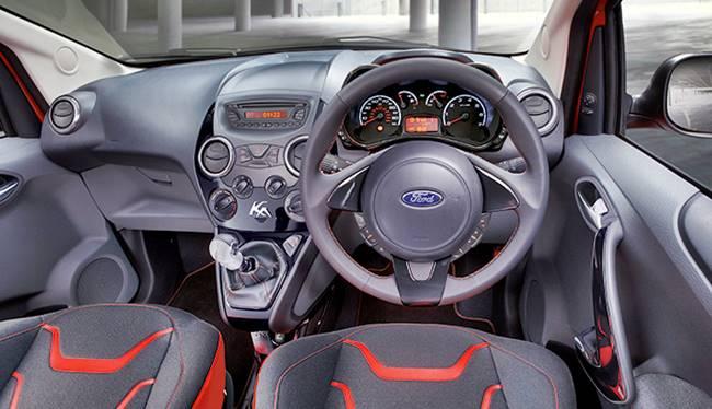 2017 Ford KA Interior Styling